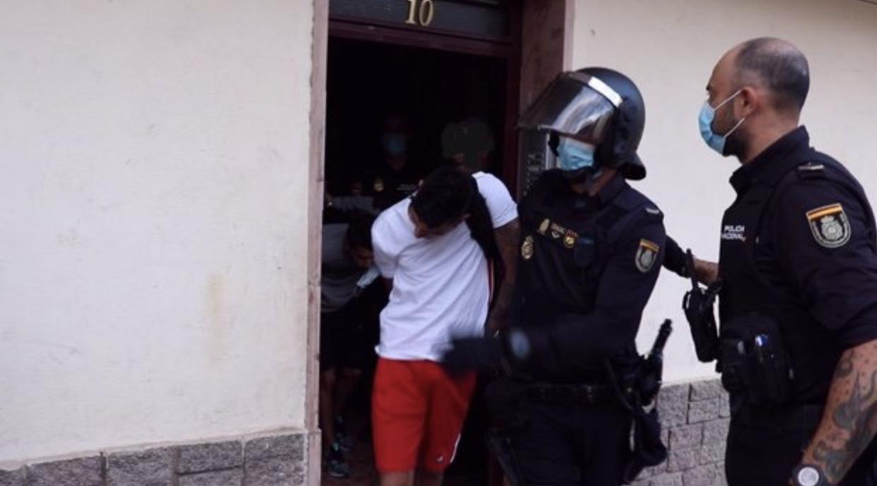 Detención de los autores de la pelea en Alicante