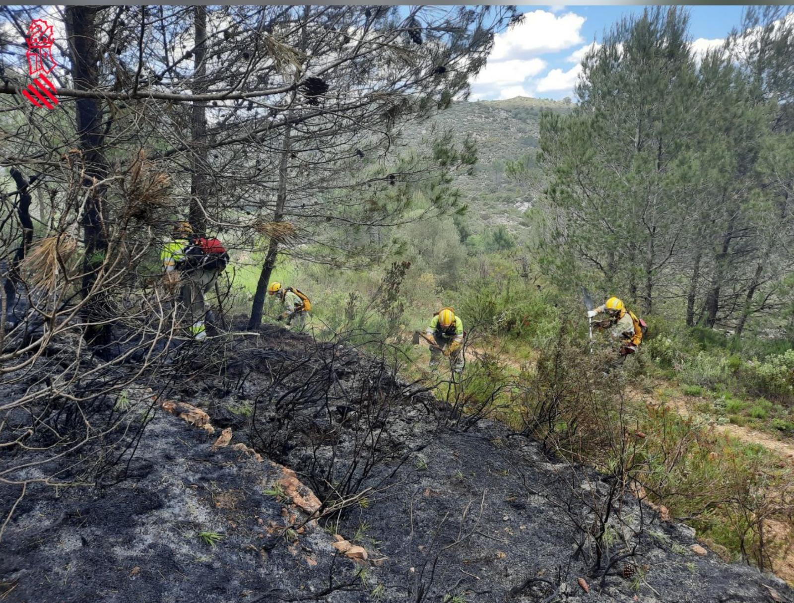 incendio Vall de Gallinera