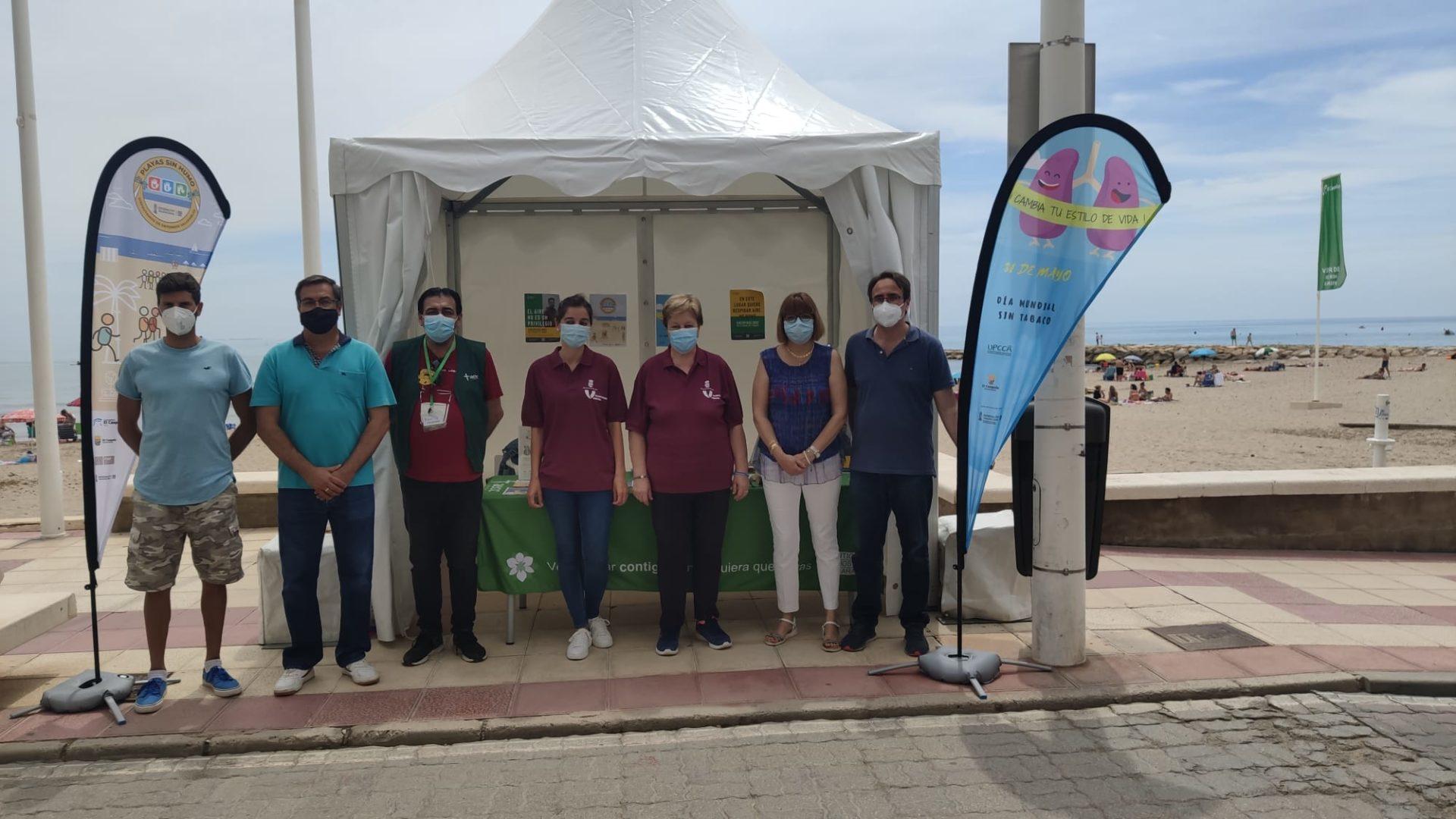 Día Mundial del Tabaco en El Campello