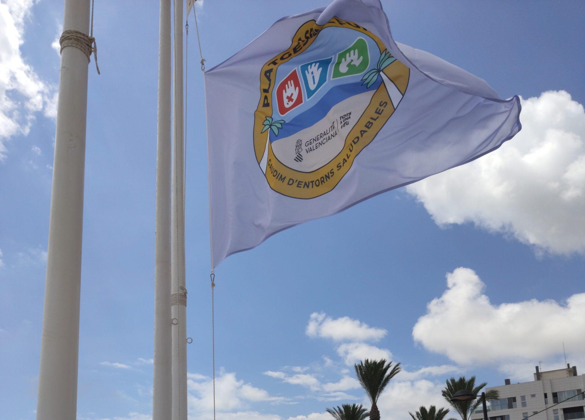 Bandera playas sin humo El Campello
