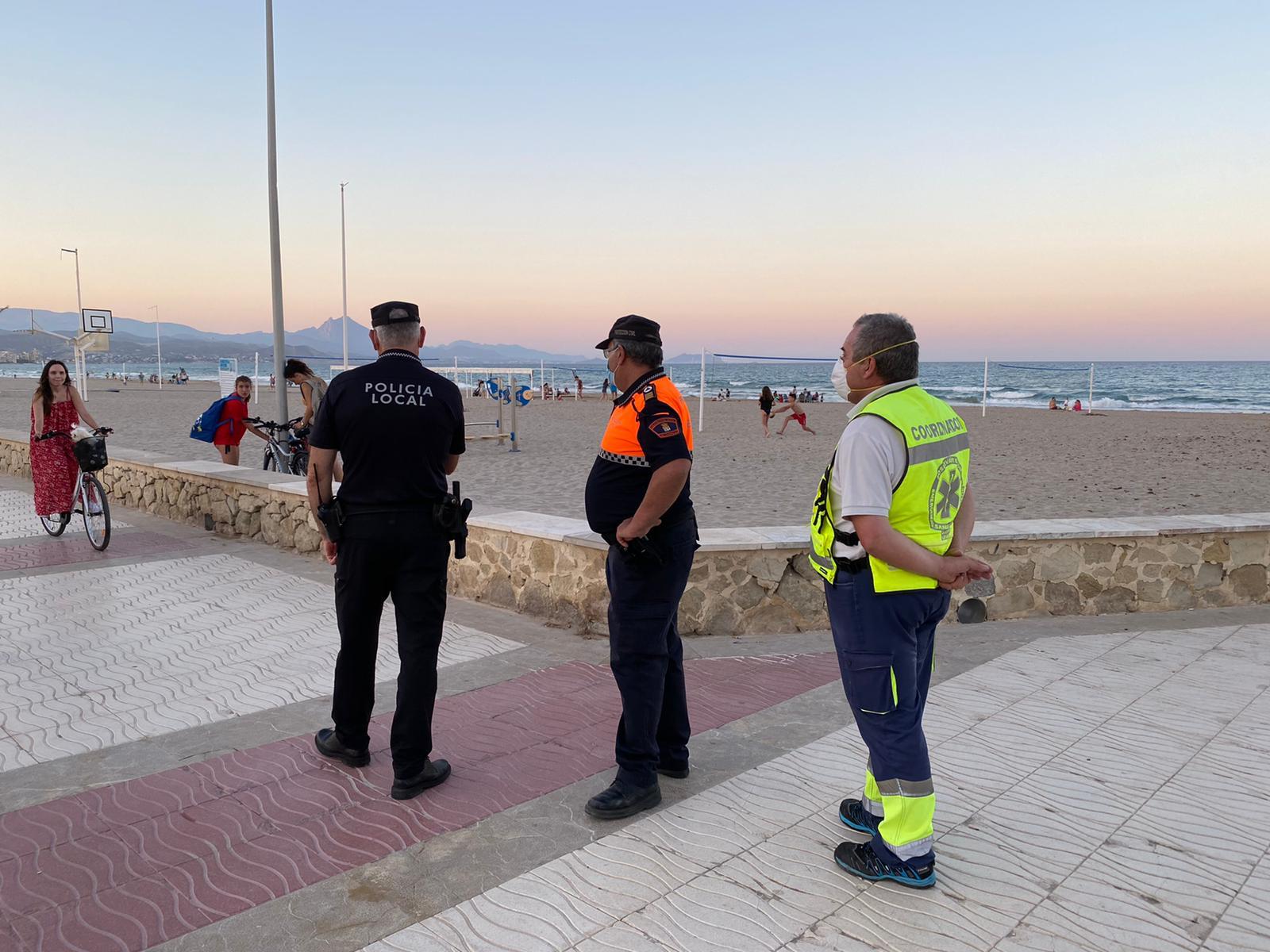 Control policial El Campello