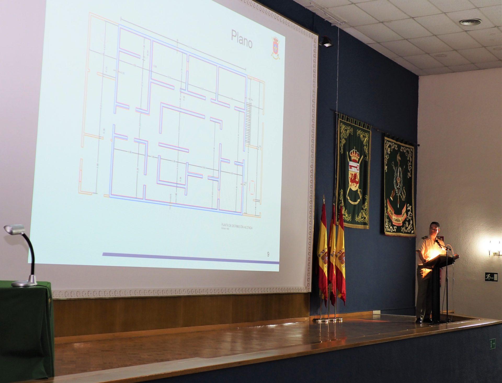 Presentación proyecto (Imagen: Oficina Comunicación MADOC)