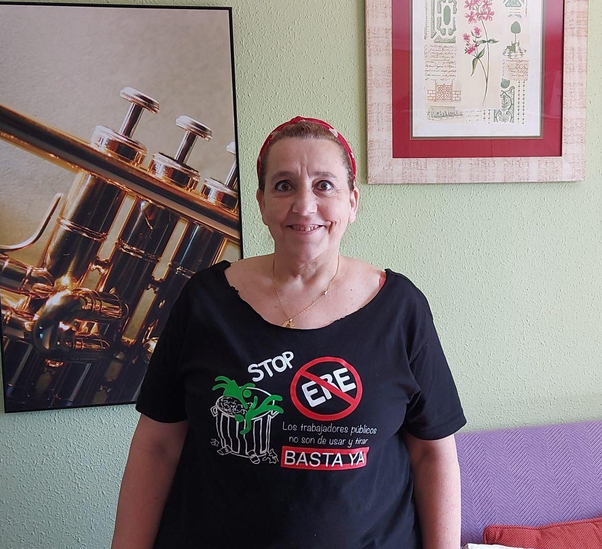 Arancha Alfaro, secretaria general del sindicato CGT Alicante