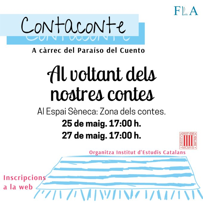 Contacontes Feria del Libro Alicante 2021