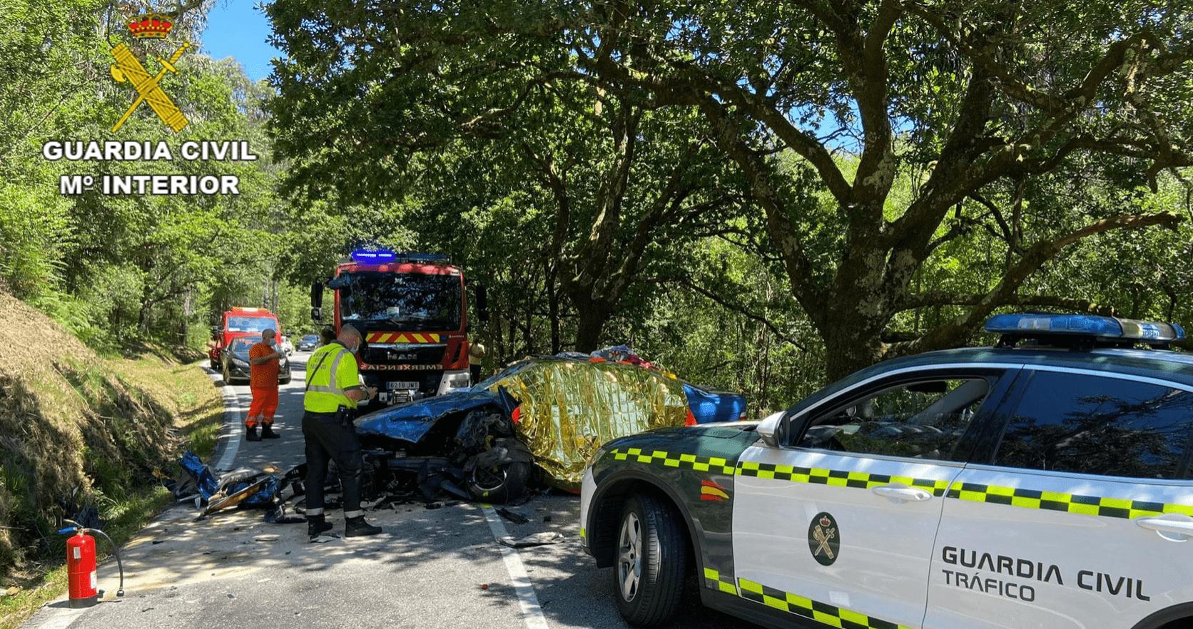 Accidente piloto Víctor Magariños