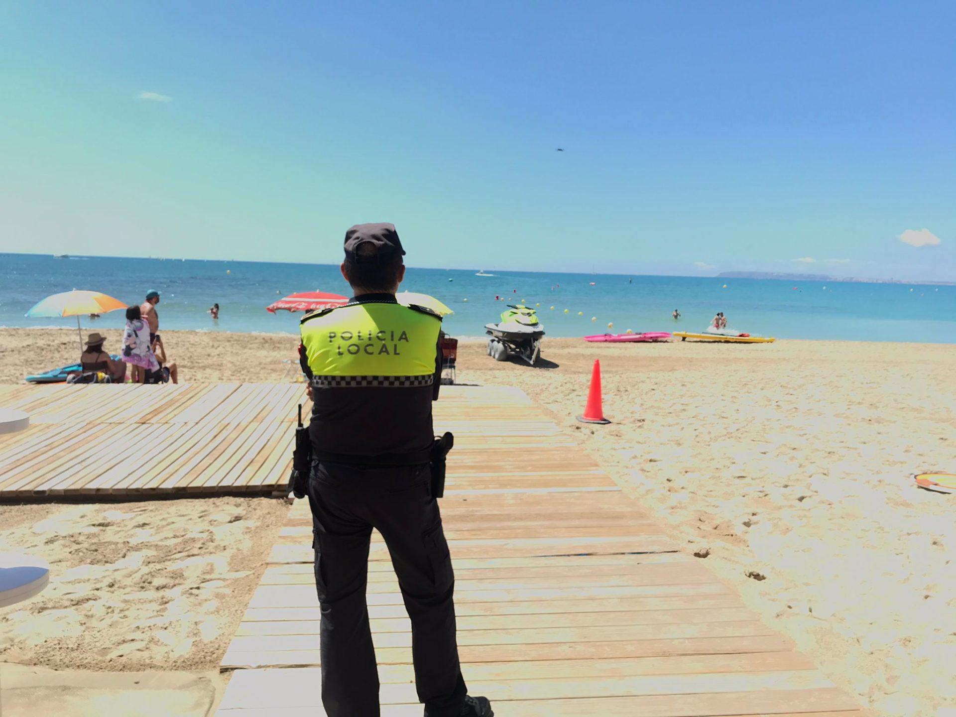 Dispositivo Policial El Postiguet