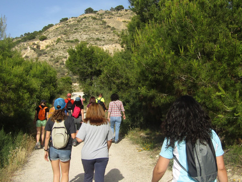 Salida del programa Senderos de Primavera Alicante