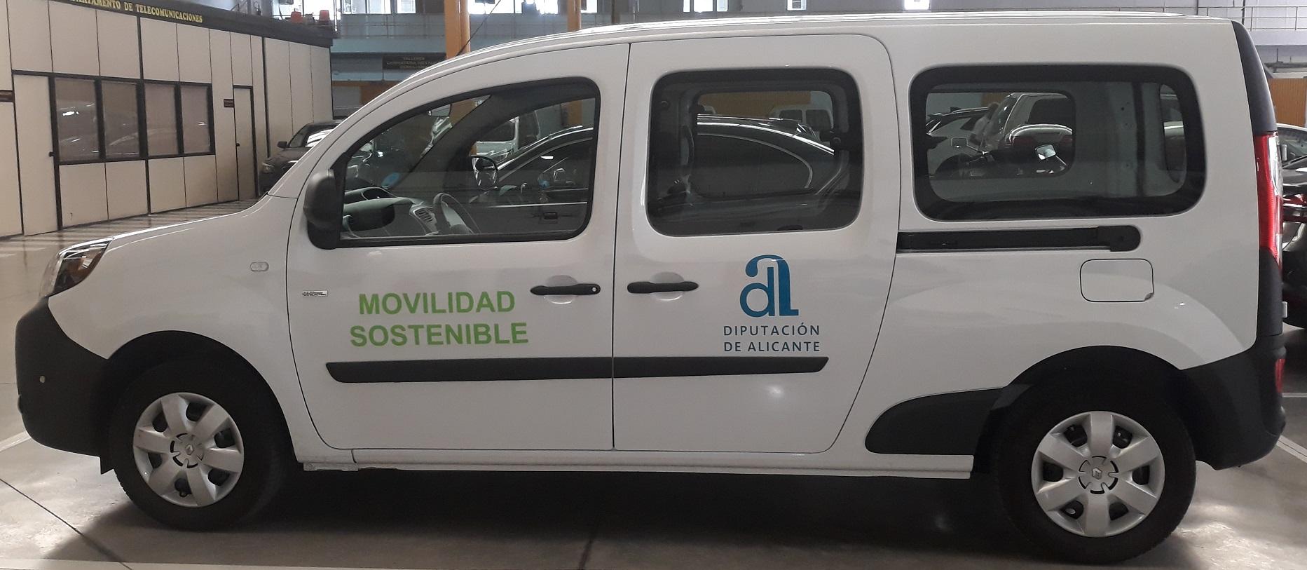 Vehiculo eléctrico de la Diputación Alicante