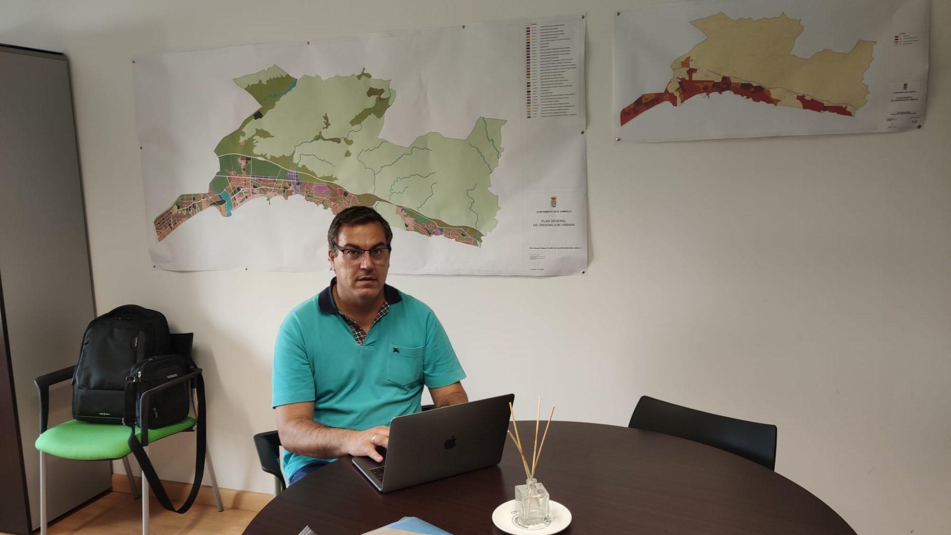 Juliol Oca, primer tinent d'alcalde del Campello i regidor de Medi Ambient