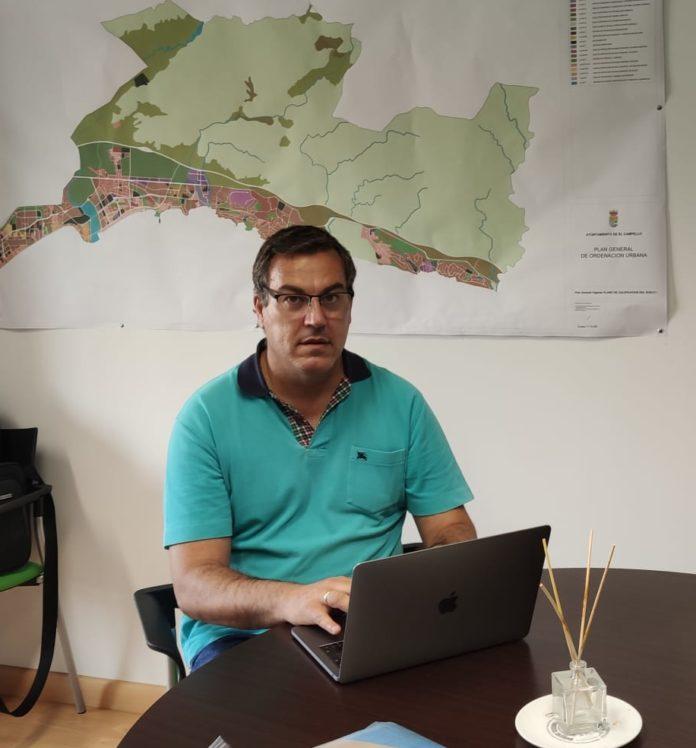 Julio Oca, primer teniente de alcalde El Campello y edil de Medio Ambiente
