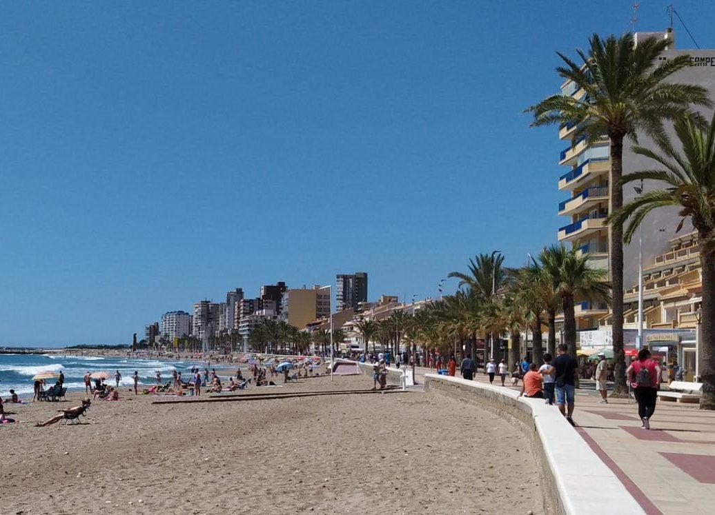 Playa de El Campello (Alicante)