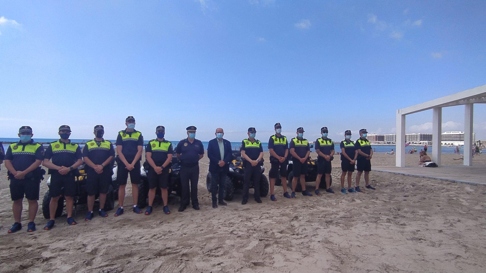 Presentación dispositivo policial playas Alicante