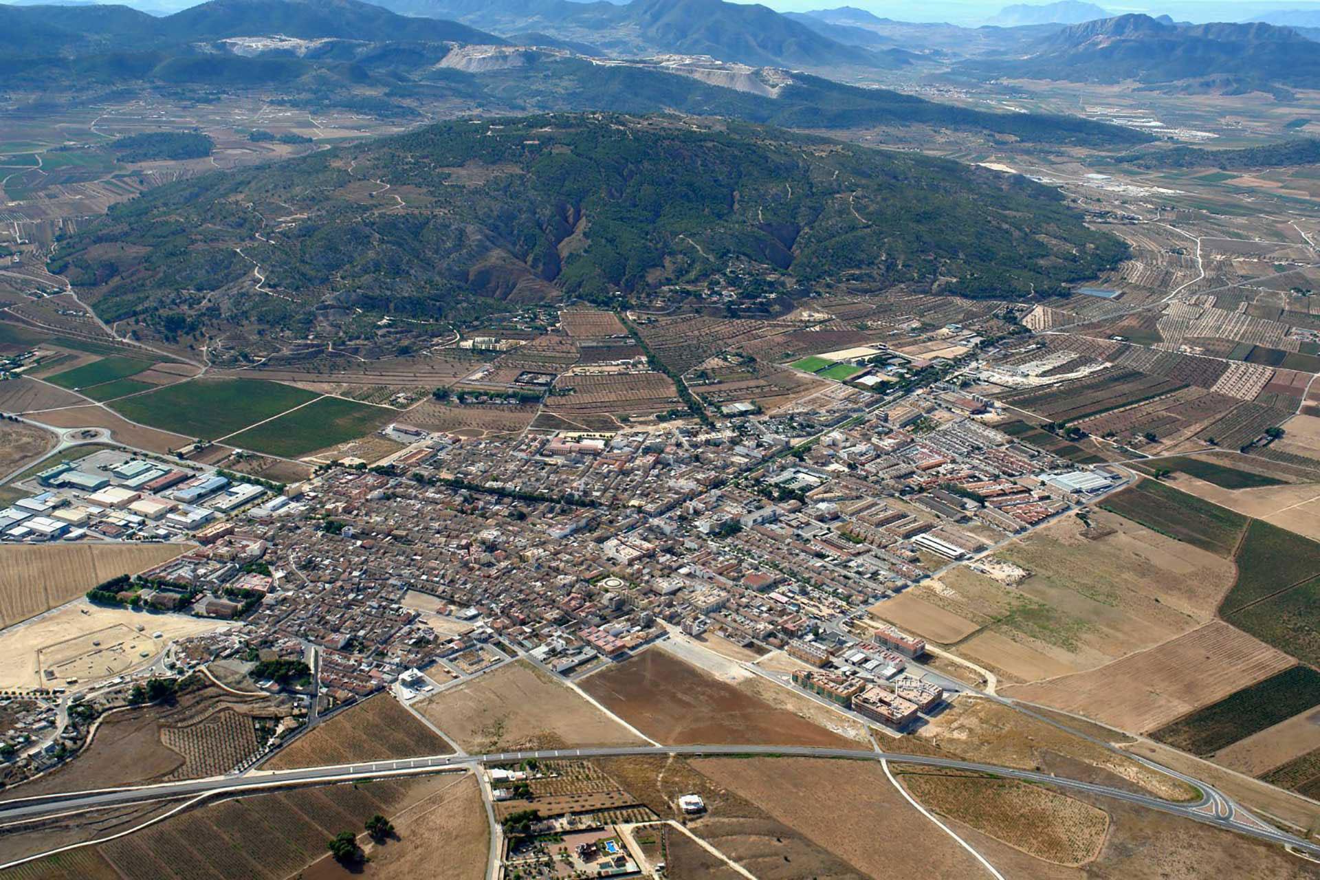 Municipio de Pinoso (Alicante)- Imagen: pinoso.org