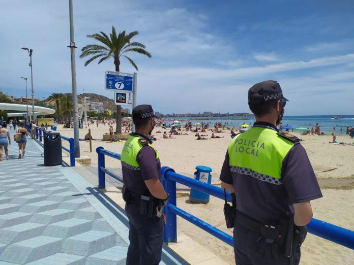 Dispositivo seguridad playas Alicante